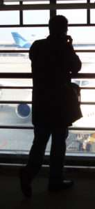Man in Airport.